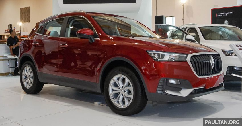 Borgward BX5 and BX7 SUVs previewed in Malaysia Image #812928