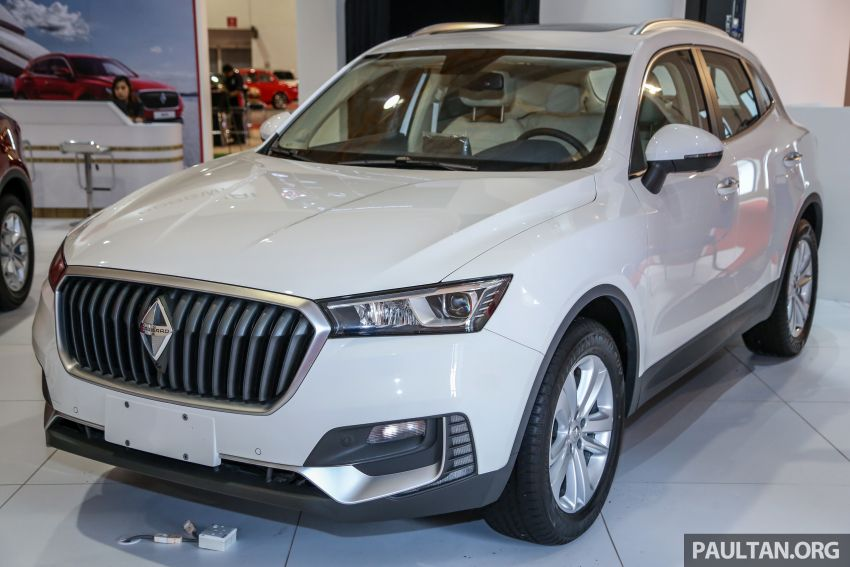Borgward BX5 and BX7 SUVs previewed in Malaysia Image #812450