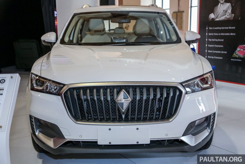 Borgward BX5 and BX7 SUVs previewed in Malaysia Image #812451