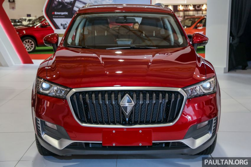 Borgward BX5 and BX7 SUVs previewed in Malaysia Image #812426