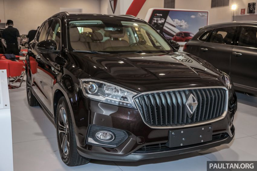Borgward BX5 and BX7 SUVs previewed in Malaysia Image #812359