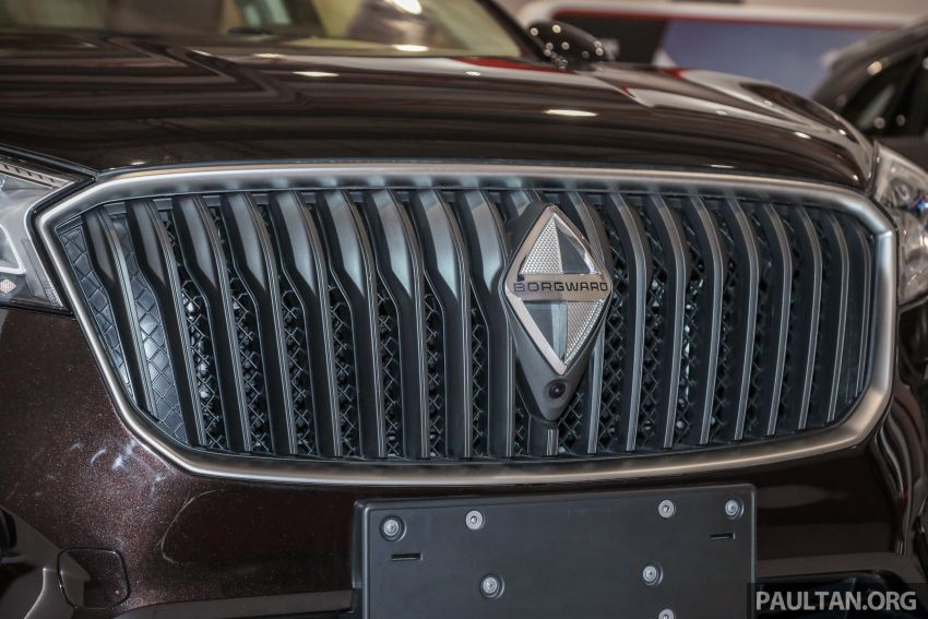 Borgward BX5 and BX7 SUVs previewed in Malaysia Image #812369