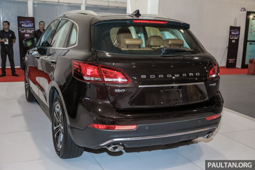 Borgward BX5 and BX7 SUVs previewed in Malaysia Image #812361