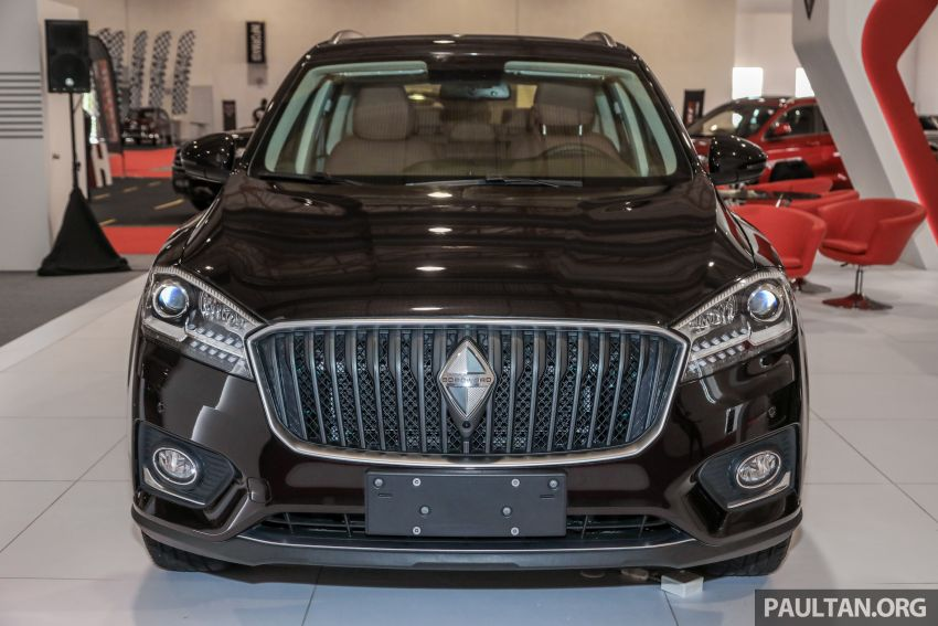 Borgward BX5 and BX7 SUVs previewed in Malaysia Image #812362
