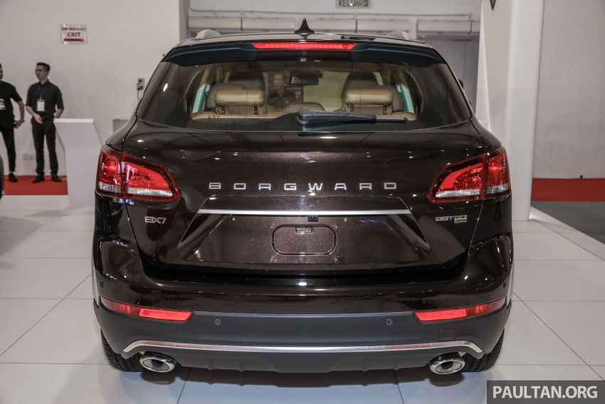 Borgward BX5 and BX7 SUVs previewed in Malaysia Image #812363