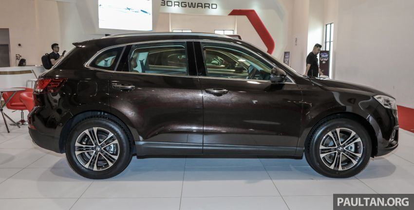 Borgward BX5 and BX7 SUVs previewed in Malaysia Image #812364