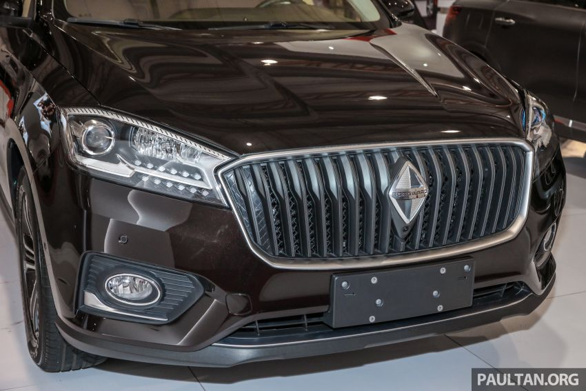 Borgward BX5 and BX7 SUVs previewed in Malaysia Image #812365