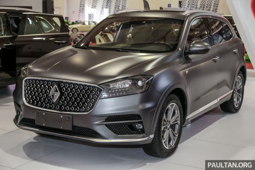 Borgward BX5 and BX7 SUVs previewed in Malaysia Image #813204