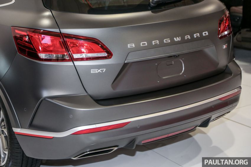 Borgward BX5 and BX7 SUVs previewed in Malaysia Image #813220