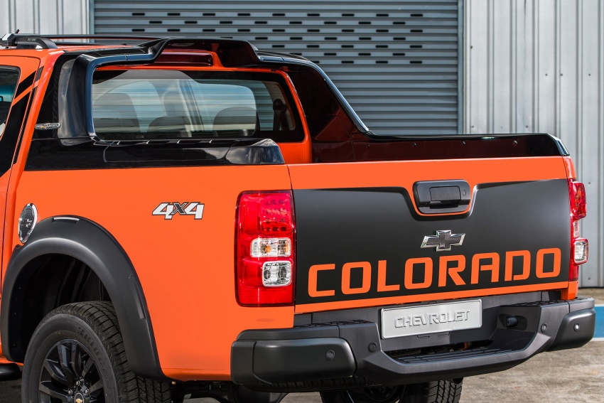 Bangkok 2018: Chevrolet Colorado in Orange Crush Image #801138