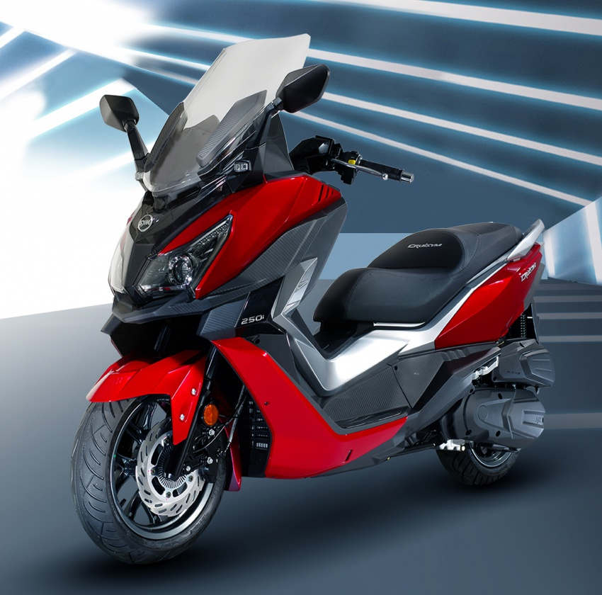 2018 SYM CRUiSYM 250i and Jet 14 scooters launched in Malaysia – priced from RM20,021 and RM7,089 Image #806783