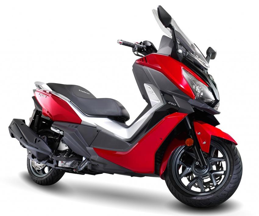 SYM CruiSYM 250i dan Jet 14 tiba di Malaysia – skuter berkapasiti 250 cc dan 125 cc, harga RM20k, RM7k Image #806746