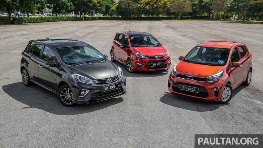 Driven Web Series 2018: Keluarga hatchback di Malaysia – Perodua Myvi vs Proton Iriz vs Kia Picanto! Image #800560