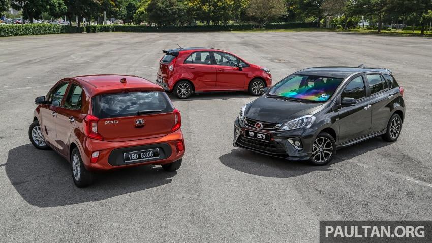Driven Web Series 2018: Keluarga hatchback di Malaysia – Perodua Myvi vs Proton Iriz vs Kia Picanto! Image #800562