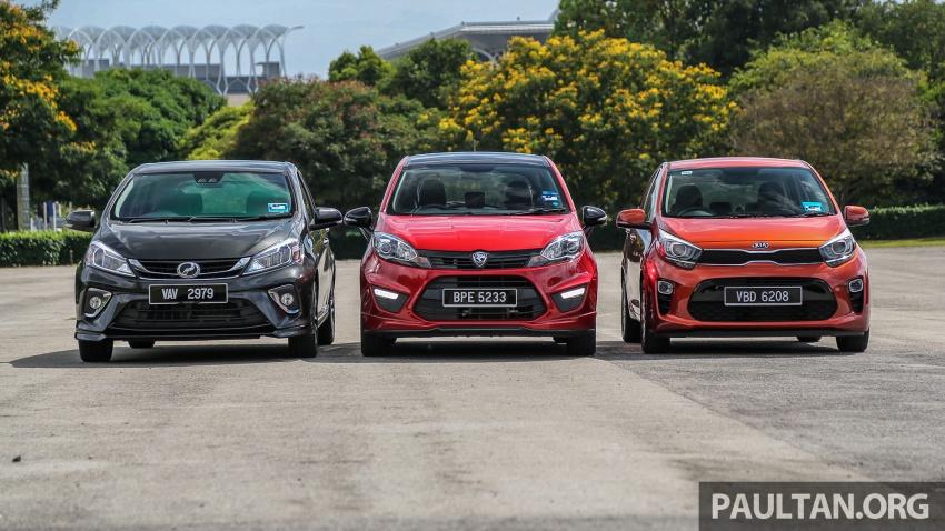 Driven Web Series 2018: Keluarga hatchback di Malaysia – Perodua Myvi vs Proton Iriz vs Kia Picanto! Image #800563