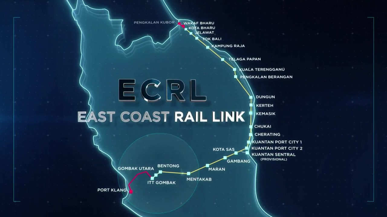 china gave the best deal for ecrl project