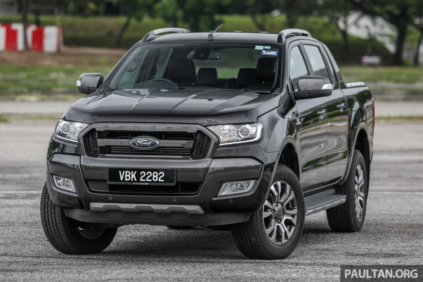 Ford Ranger 2.2L WildTrak launched in M'sia- RM128k Image #807828