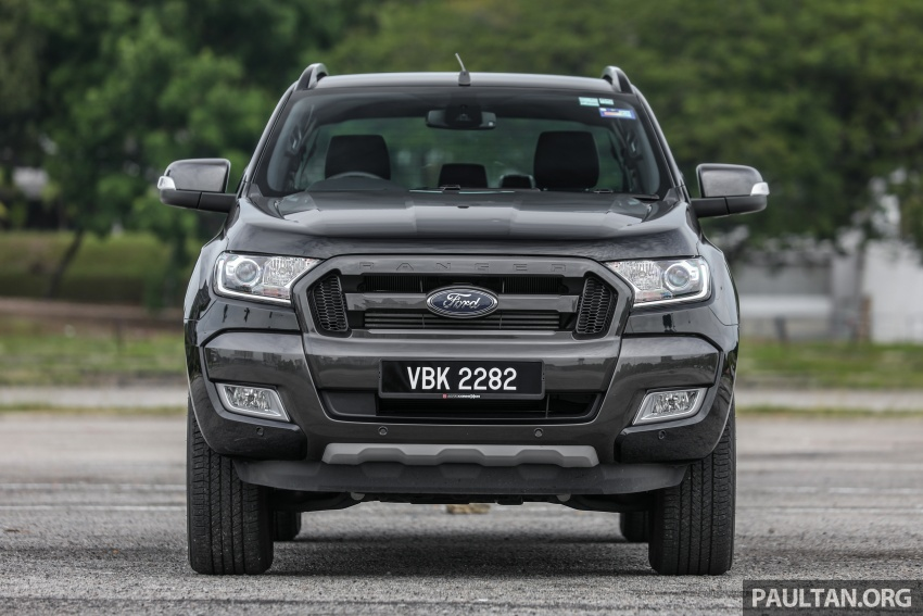 Ford Ranger 2.2L WildTrak launched in M'sia- RM128k Image #807837