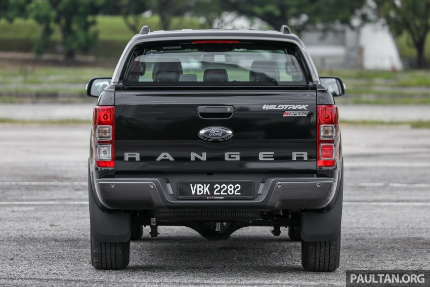 Ford Ranger 2.2L WildTrak launched in M'sia- RM128k Image #807838