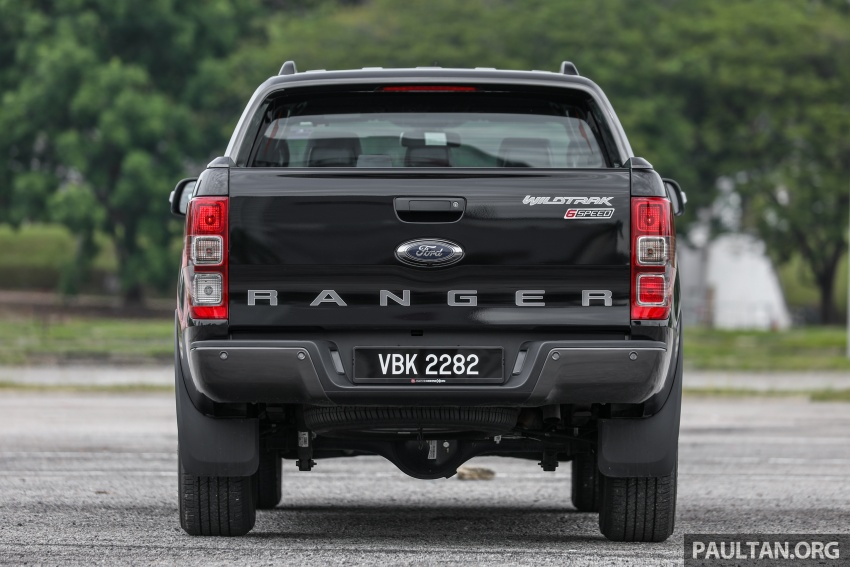 Ford Ranger 2.2L WildTrak launched in M'sia- RM128k Image #807839