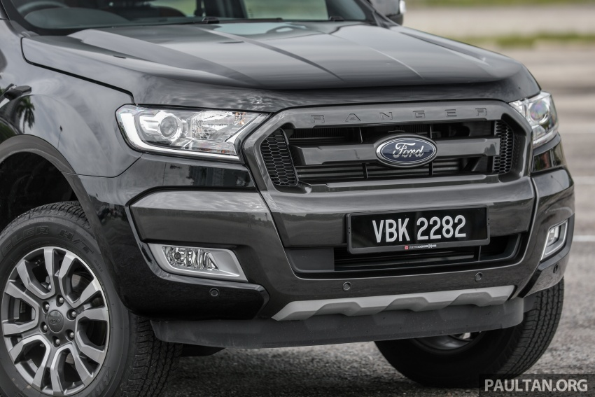 Ford Ranger 2.2L WildTrak launched in M'sia- RM128k Image #807842