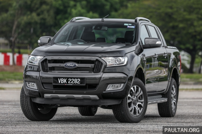 Ford Ranger 2.2L WildTrak launched in M'sia- RM128k Image #807829