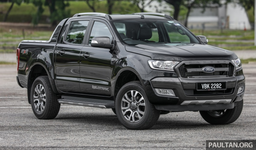Ford Ranger 2.2L WildTrak launched in M'sia- RM128k Image #807830