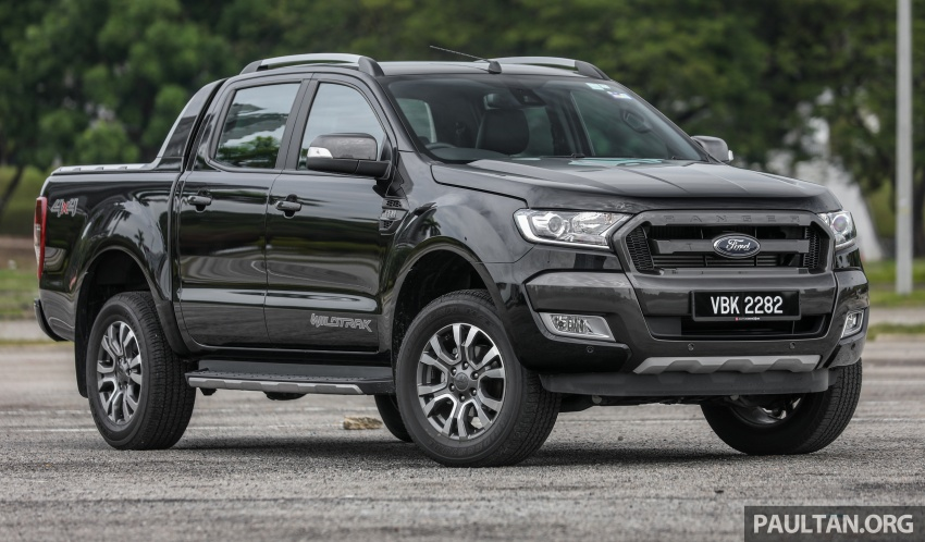 Ford Ranger 2.2L WildTrak launched in M'sia- RM128k Image #807831