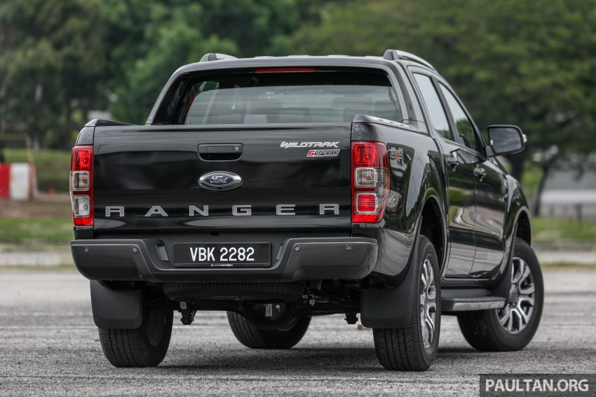 Ford Ranger 2.2L WildTrak launched in M'sia- RM128k Image #807833