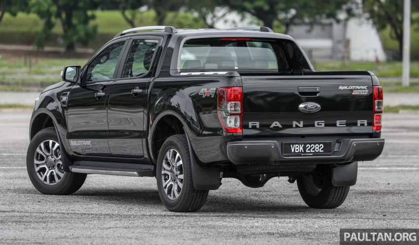 Ford Ranger 2.2L WildTrak launched in M'sia- RM128k Image #807834