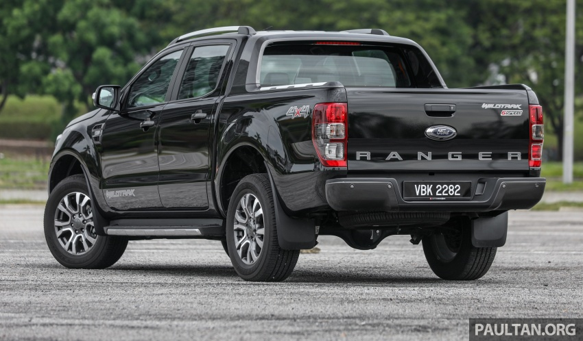 Ford Ranger 2.2L WildTrak launched in M'sia- RM128k Image #807835