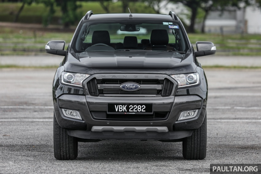 Ford Ranger 2.2L WildTrak launched in M'sia- RM128k Image #807836