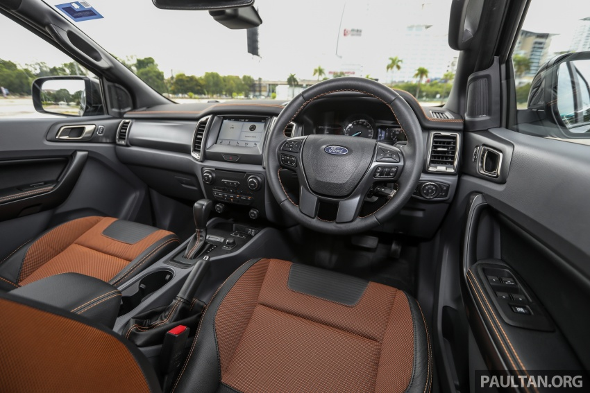 Ford Ranger 2.2L WildTrak launched in M'sia- RM128k Image #807868