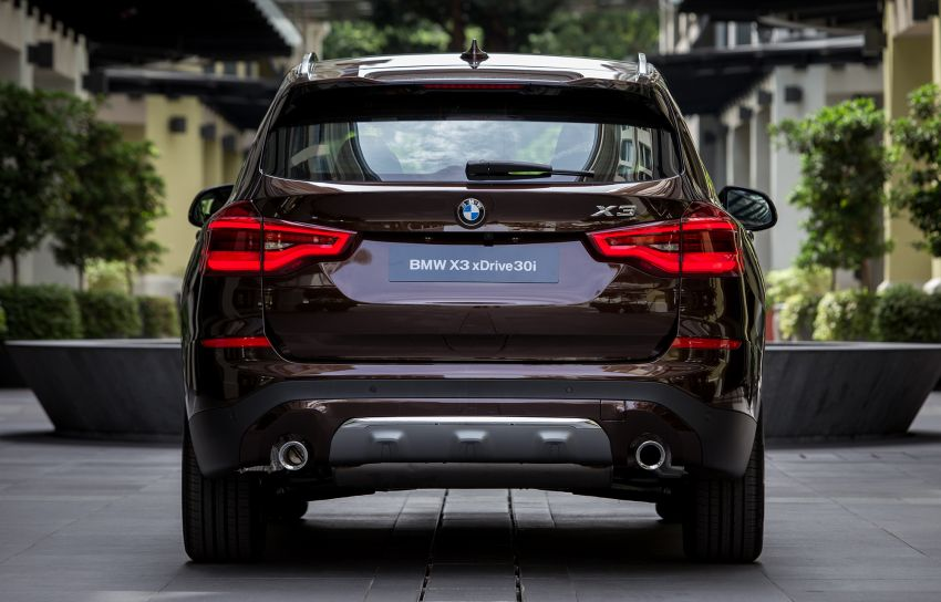 G01 BMW X3 launched in M'sia – 30i Luxury, RM314k Image #809134