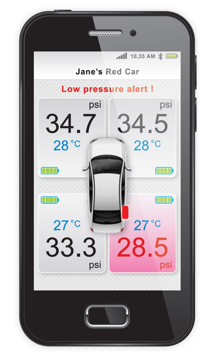 Perodua introduces GearUp Bluetooth tyre pressure monitoring system – check in-car and via app, RM385 Image #803962