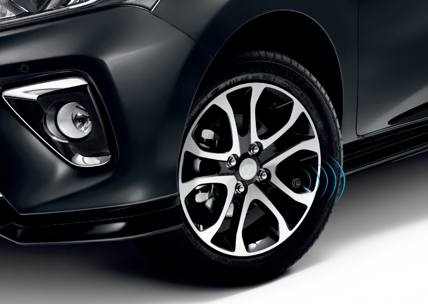 Perodua introduces GearUp Bluetooth tyre pressure monitoring system – check in-car and via app, RM385 Image #803963