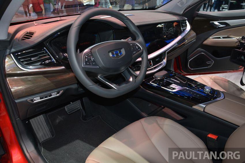 Beijing 2018: Geely Borui GE hybrid variants unveiled – PHEV and MHEV D-segment sedans, 1.5T 7DCT Image #811166