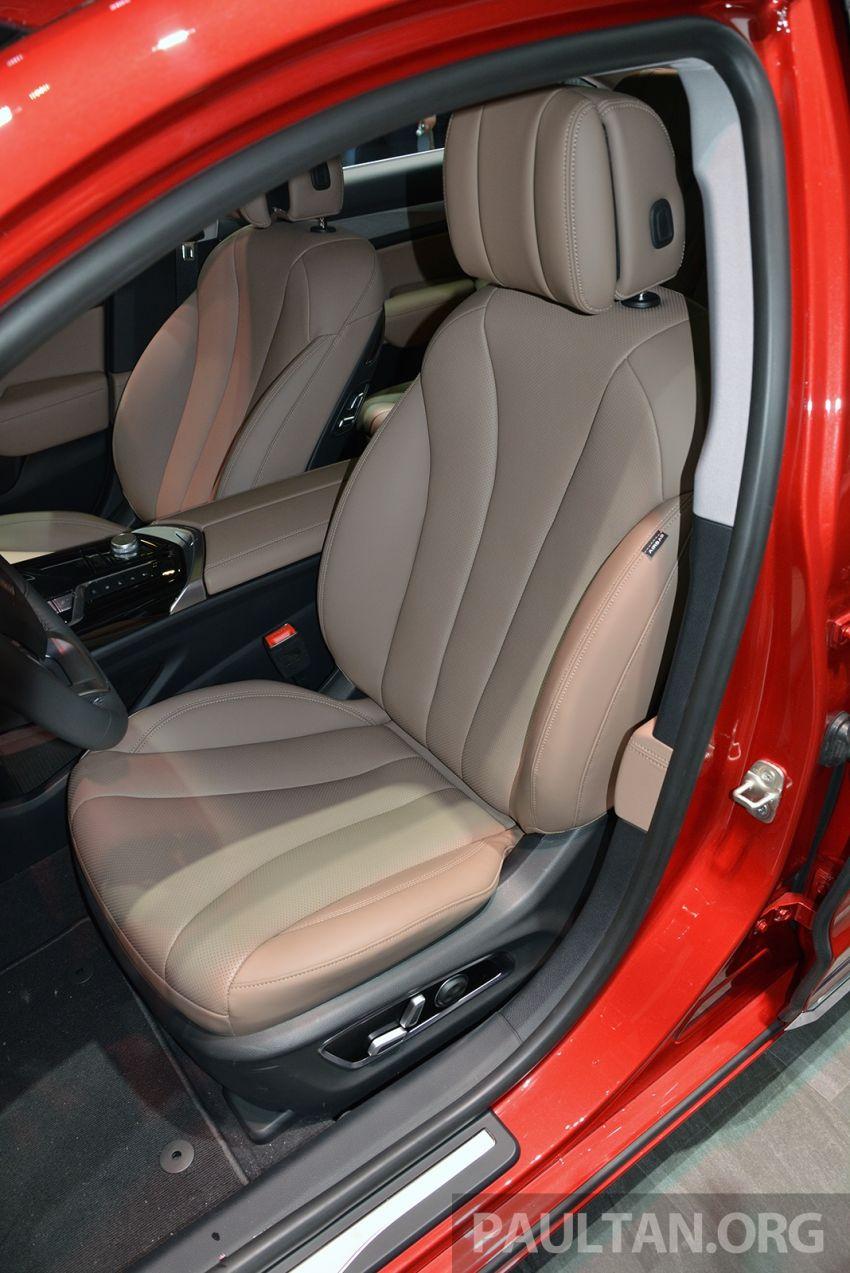 Beijing 2018: Geely Borui GE hybrid variants unveiled – PHEV and MHEV D-segment sedans, 1.5T 7DCT Image #811167