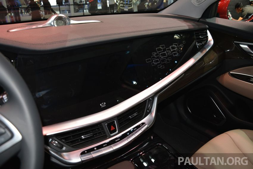 Beijing 2018: Geely Borui GE hybrid variants unveiled – PHEV and MHEV D-segment sedans, 1.5T 7DCT Image #811174