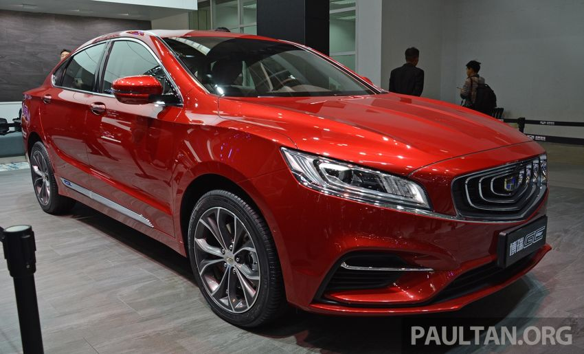 Beijing 2018: Geely Borui GE hybrid variants unveiled – PHEV and MHEV D-segment sedans, 1.5T 7DCT Image #810706