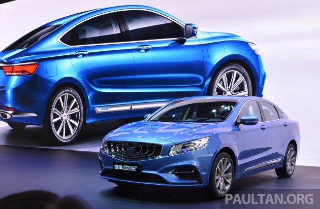 Beijing 2018 Geely Borui Ge Hybrid Variants Unveiled Phev And