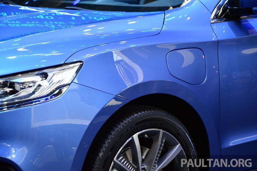 Beijing 2018: Geely Borui GE hybrid variants unveiled – PHEV and MHEV D-segment sedans, 1.5T 7DCT Image #810735