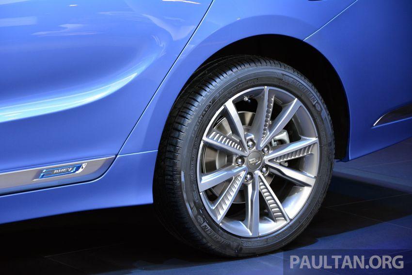 Beijing 2018: Geely Borui GE hybrid variants unveiled – PHEV and MHEV D-segment sedans, 1.5T 7DCT Image #810740