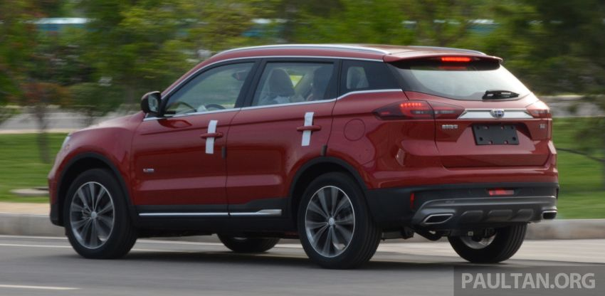 GALLERY: 2018 Geely Boyue 1.8L TGDi facelift detailed – basis for the first Proton SUV due in Q4 Image #813500