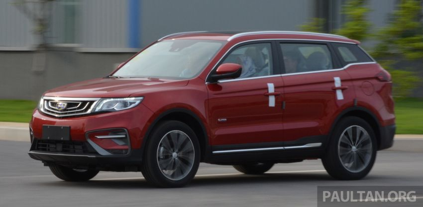 GALLERY: 2018 Geely Boyue 1.8L TGDi facelift detailed – basis for the first Proton SUV due in Q4 Image #813502