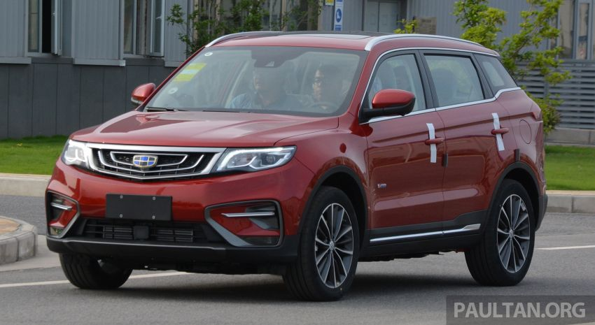 GALLERY: 2018 Geely Boyue 1.8L TGDi facelift detailed – basis for the first Proton SUV due in Q4 Image #813503