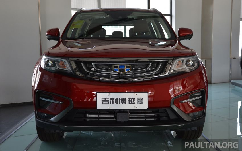 GALLERY: 2018 Geely Boyue 1.8L TGDi facelift detailed – basis for the first Proton SUV due in Q4 Image #813505