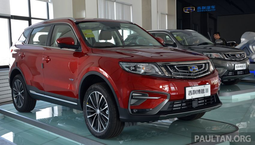 GALLERY: 2018 Geely Boyue 1.8L TGDi facelift detailed – basis for the first Proton SUV due in Q4 Image #813508
