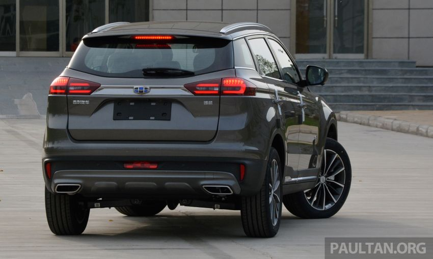 GALLERY: 2018 Geely Boyue 1.8L TGDi facelift detailed – basis for the first Proton SUV due in Q4 Image #813509