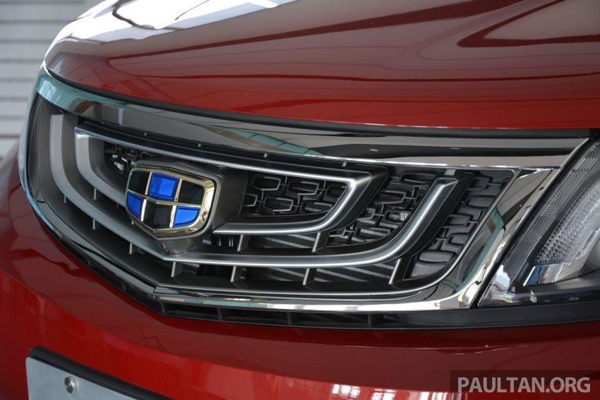 GALLERY: 2018 Geely Boyue 1.8L TGDi facelift detailed – basis for the first Proton SUV due in Q4 Image #813512
